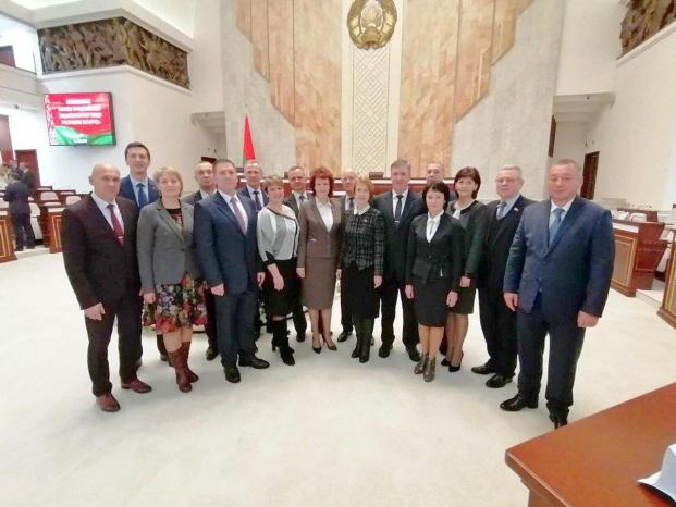 Депутаты Палаты представителей седьмого созыва от Гомельской области